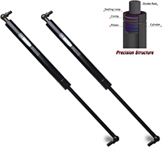 Beneges 2PCs Front Hood Struts Compatible with 1998-2007 Lexus LX470, 1998-2007 Toyota Land Cruiser Gas Spring Charged Lift Supports Shocks Dampers 5344069025, 4361, SG329040