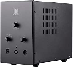 Monolith Tube Amp Headphone Amplifier - Black with ESS ES9018 Sabre Chip DAC | Impedance Selector | Tube Sound