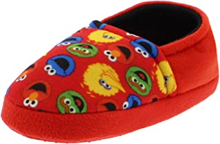 Elmo Cookie Monster Boys Girls Aline Slippers (Toddler/Little Kid)