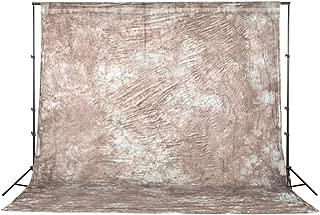 Fovitec - 1x 10'x20' Photography & Video Burnt Orange Tie Dye Muslin Backdrop - [Cotton][Rod Pocket][Seamless][Matte Finish][Machine Washable]
