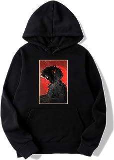 beidiyinger See You, Space Cowboy Cowboy Bebop Anime Spike Hoodie Sweater for Mens