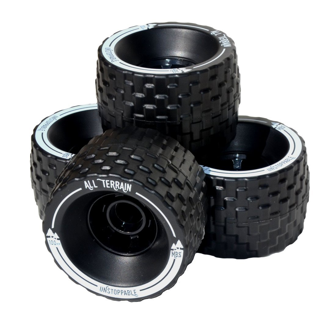MBS 13401 All Terrain Longboard Wheels