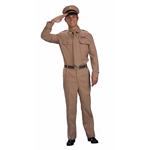 WW1 Army Officer Gal Wartime One Size Womens Ladies Fancy Dress Costume Forces