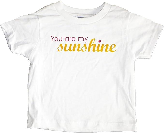 Personalized you are my sunshine shirtgirls shirtkids shirtembroidery