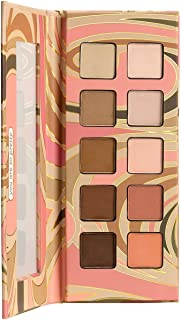 Pacifica Beauty, Pink Nudes Mineral Eyeshadow Palette, 10 Neutral Shades, For Natural or Smoky Eye Look, Eye Makeup, Longw...