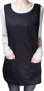 Enerhu Work Sleeveless Uniform Workwear Vest Waistcoat Clothing Sever Waiter Unisex
