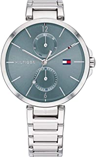 Tommy Hilfiger Womens Quartz Wrist Watch, Chronograph and Stainless Steel- 1782126