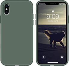 cillen Silicone Case for iPhone X/iPhone Xs case Liquid Silicone Gel Rubber Phone Case,iPhone X/iPhone Xs 5.8 Inch Slim So...