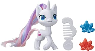 My Little Pony Potion Nova Potion Pony Figure -- 3-Inch White Pony Toy with Brushable Hair, Comb, and 4 Surprise Accessories