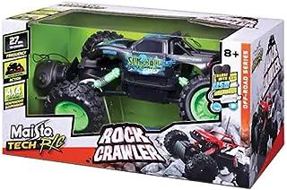 Maisto Tech Radio Control Rock Crawler Vehicle , Green , 90159811527