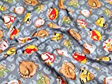 Camelot Stoffe Angry Birds Star Wars Rebel Leaders Quilting