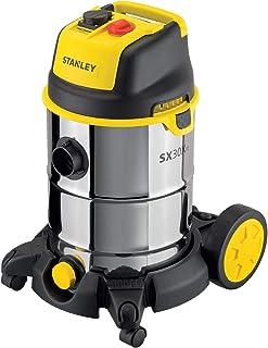 STANLEY 51695 Aspiradora con depósito 30 L, 1600 W, Negro,
