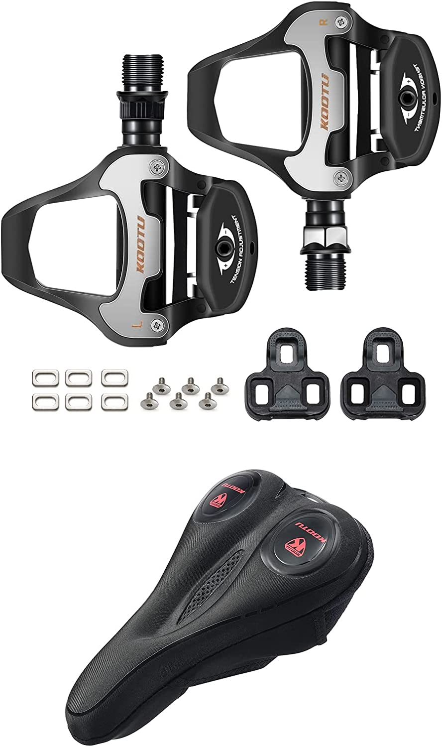 KOOTU Bike Pedals Road Se In a popularity Clipless with Wholesale