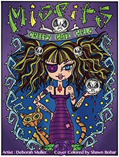 Misfits: Misfits Cute and Creepy Girls to Color