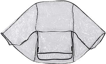 Cochecito de bebé Cubierta de lluvia Impermeable, Impermeable Transparente Silla de paseo Protección Bebé Buggy Cochecito Cubierta de lluvia para cochecito Uso al aire libre