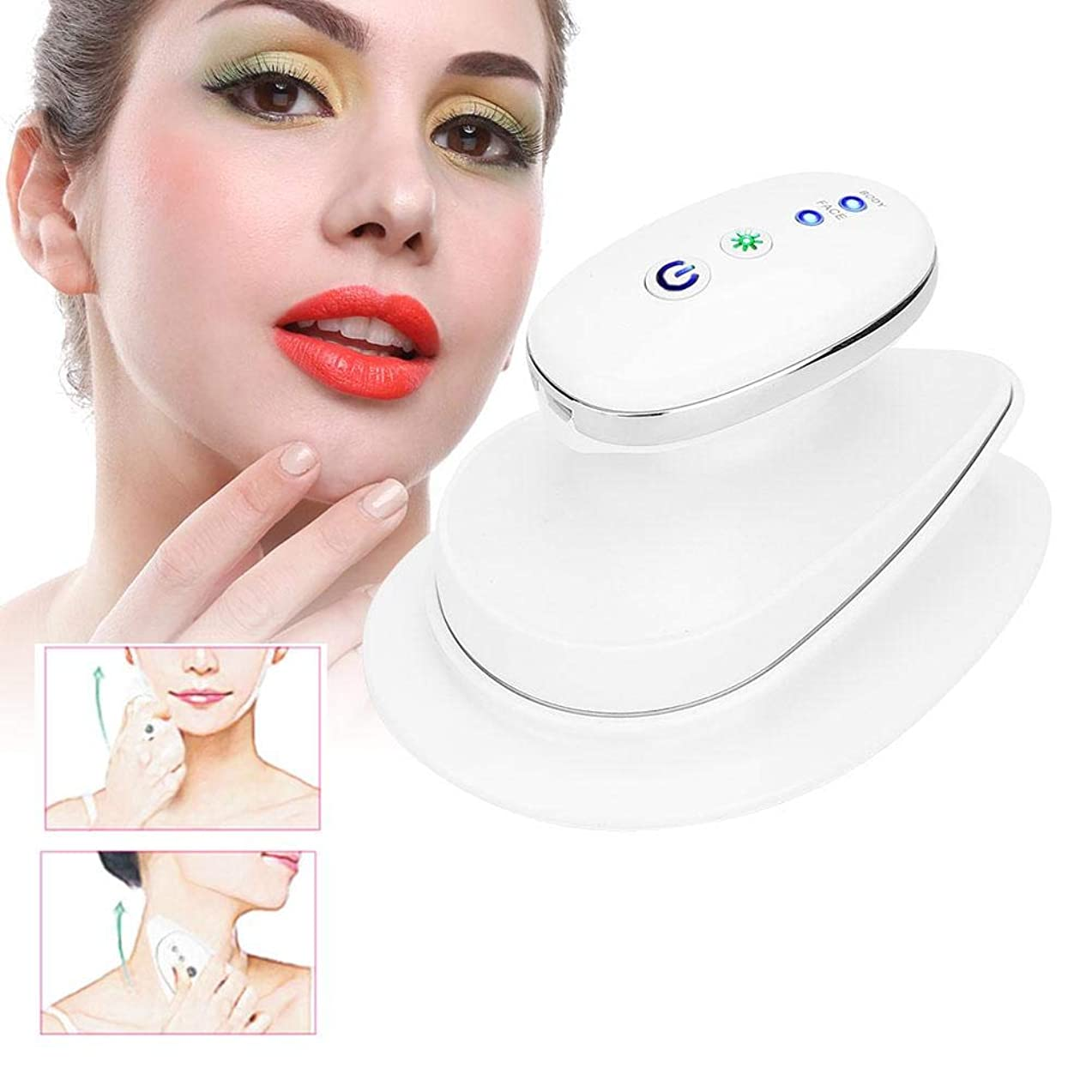 サドル手紙を書くバウンド顔のマッサージ機、浮腫の引き締めのしわを引き締める浮腫の除去の皮は美の皮のマッサージャー装置を取除きます