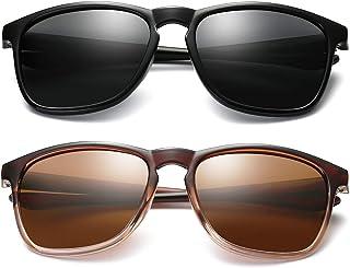 Joopin Fashion Oversized Sunglasses for Men - Retro Womens Lightweight Sunglasses Polarized E8942