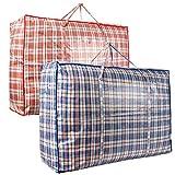 AAYAW Paquete de 2 bolsas grandes para la colada, cesta de lavandería,...