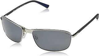 Polarized Sunglasses Decoy Rectangle Frame 60 mm