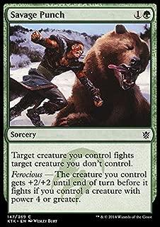 Magic: the Gathering - Savage Punch (147/269) - Khans of Tarkir