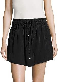 Joie Womens Wendolyn Silk Mini Pencil Skirt