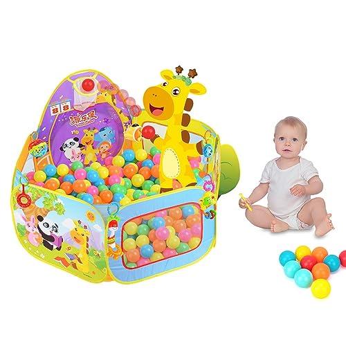 SKL Tente de Jeu,Baby / Kids Playpen Ball Pit Pool Indoor et Outdoor avec Toddler Enfants Jouets pour Enfants Cadeaux