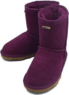 K.Signature Little Kids (4-7 Years) Veronica Classic Sheepskin Winter Boots