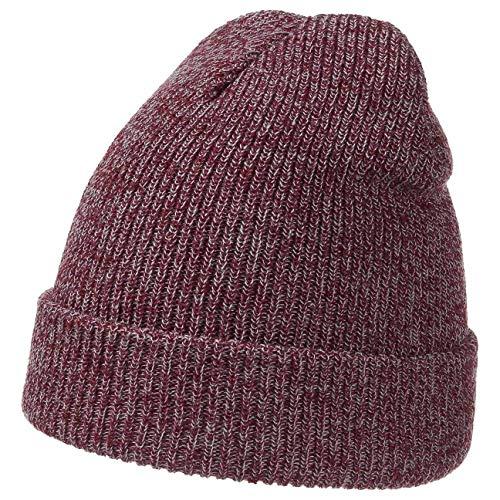 Bonnet Fusio 2 in 1 Beanie beanie bonnet pour homme (taille unique - bordeaux)