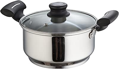 Krome Stainless Steel Royal Casserole With Lid 18 Cm by Jindal Stainless