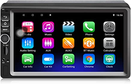 Panlelo S1 MAX Android 8.1 Navigazione GPS 2 Din Car Stereo Auto Radio AM FM RDS Musica Video Player 1080P Supporto Specchio Link Controllo Volante