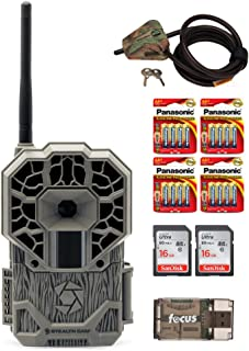 Stealth Cam GXATW AT&T Wireless Cellular 22MP Trail Camera/w Two Focus USB 16GB Memory Card, Reader and Batteries Bundle