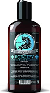 Bossman Fortify Intense Beard Conditioner to Grow, Thicken, Moisturize and Protect Your Beard (Magic)