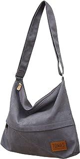 حقيبة قماش ، حقائب يد كبيرة بحمالة للنساء من TOMAS حقيبة كتف هوبو كروسبودي حقيبة عادية حمل محفظة تسوق عمل حقيبة سفر