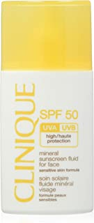 Clinique gezichtscrème - Face Mineral Liquid SPF 50, per stuk verpakt, 30 ml