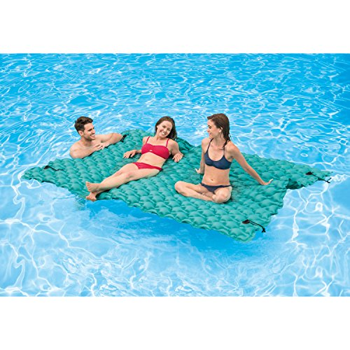 "Intex Giant Inflatable Floating Mat, 114"" X 84"