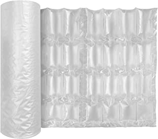 JZBRAIN Air Cushion Film Air Bubble Bags Wrap Packing Roll,1 Roll 400mm X 250mm X 200m X 0.02mm Air Cushion Films ONLY Compatible with JZBRAIN Air Pillow Maker Air Cushion Machine (74004)