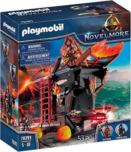PLAYMOBIL Novelmore 70393 Feuerrammbock, Für Kinder von 4-10 Jahren