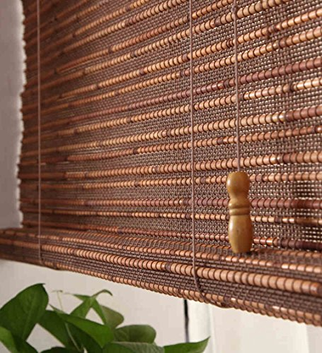 WUFENG Custom Made Bamboo Roll Up Window Blind Store Bateau En Bambou Store Anti-regard En Bambou Anti-insect Curtains Para Puertas Balcony Living Room Tea Room Sunshade Curtain store bateau en bambou ( taille : 90*180cm )