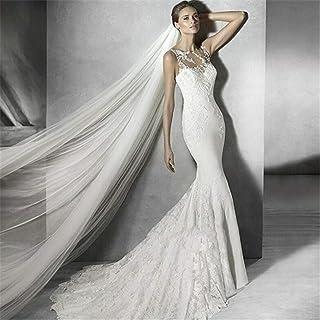 Bridal Veils Soft Tulle Cut Edge Veils 3.0M Long 2 Tiers Chapel Bridal Veil With Comb Bride Wedding Accessories 0605 yynha...