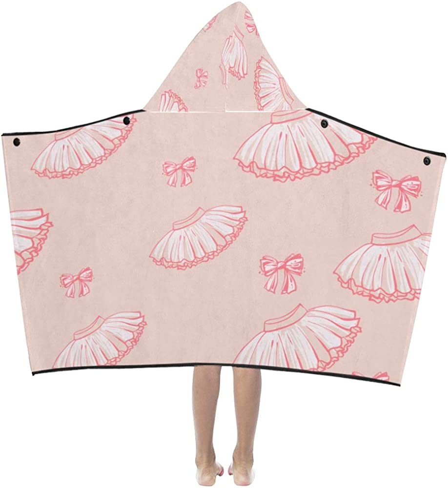 WBSNDB quality assurance Los Angeles Mall Hooded Blanket for Kids Cool Beautiful Lady Skirt Summer