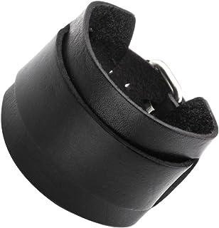 Schwarz Unisex-Armband aus Silikon und Gummi 2 St/ück