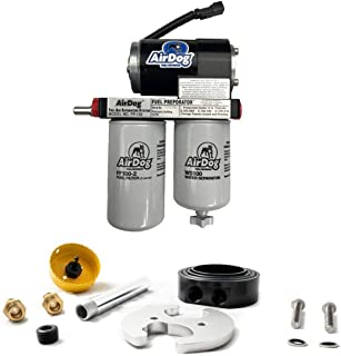 AirDog 1 FP-100 100 GPH Fuel Lift Pump with Dual Port Integrated Return Sump Compatible with 1999-2003 Ford 7.3 Powerstroke Diesel