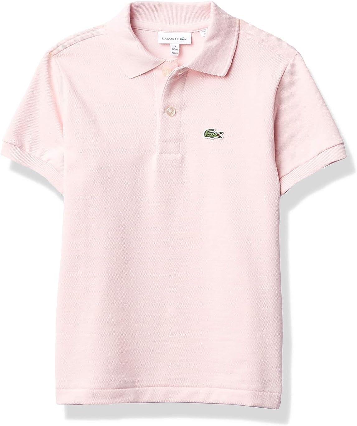 Lacoste Boys Short Sleeve Polo Bargain Pique Classic Direct store Shirt