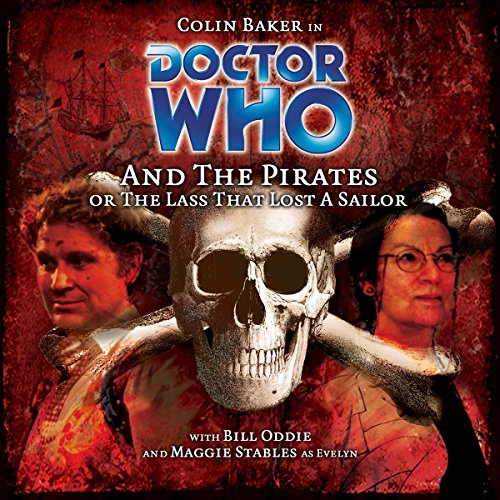 Doctor Who and the Pirates audiobook cover art