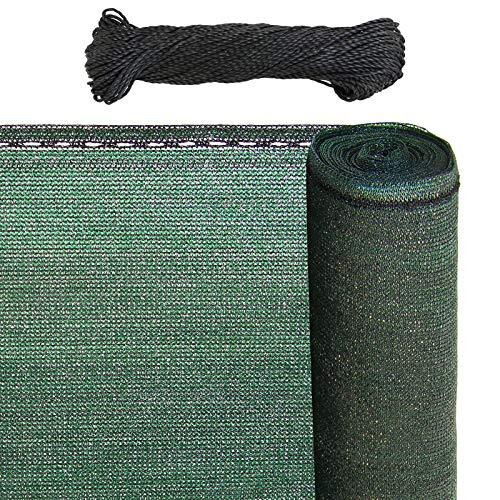 BB Sport - Gartensichtschutz in Sichtschutz Green, Größe 1.5m x 50m