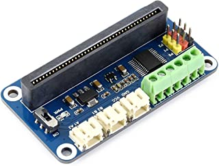 Waveshare Driver Breakout for Micro:bit Drive Two Channel DC Motors and Three Channel Servos Directly Pluggable Onboard Mu...