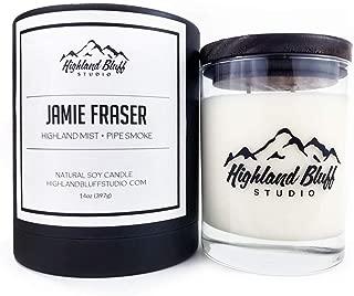 Highland Bluff Studio Jamie Fraser Signature Series Candle