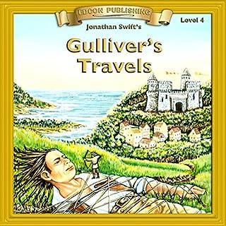 Gulliver's Travels audiobook cover art