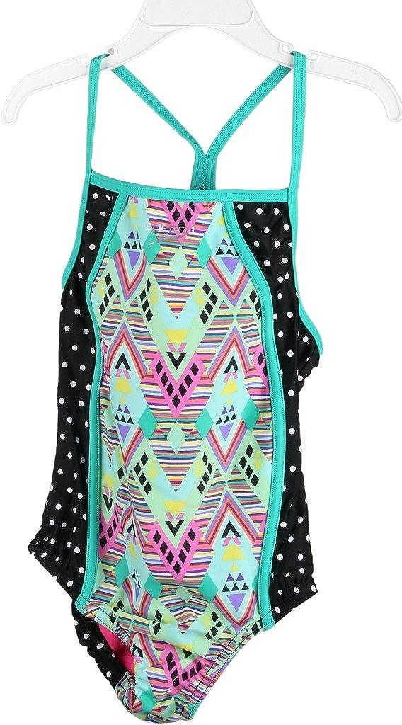 Luxury goods Austin Mall Speedo girls youth Diamond Geo Thin Swimsuit Piece One