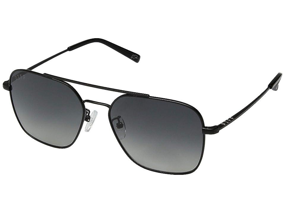 DIFF Eyewear Ace (Black/Dark Smoke) Fashion Sunglasses